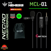 NYK NEMESIS NECRO MCL 01/ MCL01 / MCL-01 Clip On Microphone Original