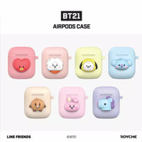 BTS BT21 Apple Airpods Soft Case Official Baby Authentic