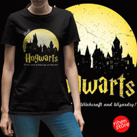 T-Shirt Harry Potter Series - Visit Hogwarts - Kaos Cewek Slim Fit