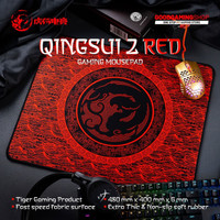 TIGER ARC QingSui Red Edition Gaming mousepad