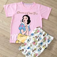 Baju tidur anak piama gina snow white