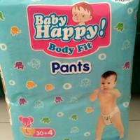 Baby Happy Body Fit Pants L30+4