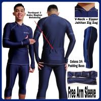 Pakaian baju celana set Jersey sepeda padding busa balap gunung