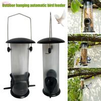 Tempat Makan Burung Gantung Otomatis Bahan Pvc Outdoor