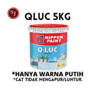 QLUC Q Luc Qiluc Cat Tembok Warna Nippon Paint Galon 5Kg 5 Kg Murah 5L