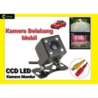 Kamera Mundur Mobil Camera Kotak LED CCD Aksesoris Avanza Jazz dll