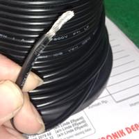 kabel AWG12 AWG 12 diamater serabut 4mm made in JAPAN Hitam per meter