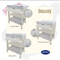 Pliko Baby Tafel Tempat Ganti Popok Bayi bak mandi Bayi matras empuk