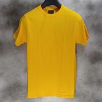 Awkward - Kaos Polos 24s tanpa jahitan samping Kuning - S