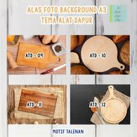 Background / Alas Foto Produk Lipat Uk A3+ Motif Talenan Harga Murah