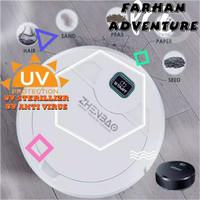 Robot Vacum Cleaner dengan Anti Virus / Vacum Robot Mini/Vacuum UV