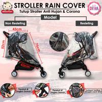 Stroller RAIN COVER Tutup Stroller Anti Hujan , Debu & Corona stroler