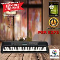 Keyboard Yamaha PSR E273 + Xstand / PSRE273 / E-273 Garansi Resmi