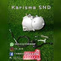 BAK KOPLING KARISMA SUPRA X 125 SND RACING BALAP ROAD ASLI