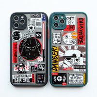 Star Wars Case - softcase full camera protect for all iPhone - SW BLACK, iPhone 11PROMAX