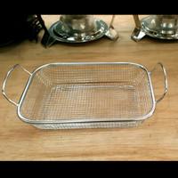 Strainer Basket Handle/Wadah Gorengan saringan kotak gagang 30x22x6,5c