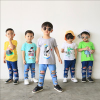 [BUY 1 GET 1 RANDOM ITEM] Kaos Anak - Anak Usia 1-4th by Little Jergio