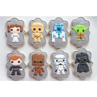 Star Wars 1 / Kukis hias / Kue karakter Starwars / Butter cookies