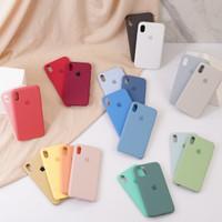 ORI APPLE SILICON - FULL COVER, ANTI KOTOR for iPHONE 6 7 8 X 11