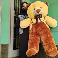 boneka beruang teddy bear jojon jumbo over all