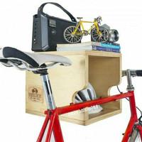 Rak Box dinding gantung sepeda dan penyimpanan assesoris