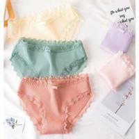 Underwear Wanita / Celana Dalam Wanita Motif Pigir Renda / Cd Kd010