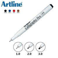 Caligraphy Pen Arabic Artline EK-241 - Hitam, EK-241 3.0