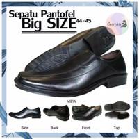 SEPATU PANTOPEL PRIA BIG SIZE 44 45 (BISA 46) / PANTOFEL UKURAN BESAR