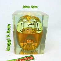 Barang Antik Minyak Apel J in Fiber Turki Daun Mas Apel Kuning