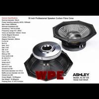 Speaker komponen Ashley Carbon AL18-125 Original 18 inch AL18125
