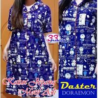 Daster / Dress - Doraemon 05 - Katun Jepang - Baju Tidur Wanita Dewasa