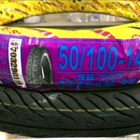 Ban Luar Motor Swallow 50 - 100 ring 14 Stream SP SB103 ukuran 200