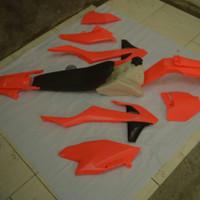 Body set ktm 250 2017 fluo oranye cover body set ktm 250 sixday 2017