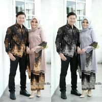 Batik Couple Kebaya Azzura Baju Pesta Terbaru Murah Berkualitas Keren
