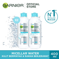 Garnier Micellar Water Blue Twin Pack