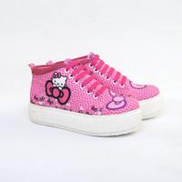 Sepatu anak sneakres boots sepatu anak perempuan hello kitty NUC1XX