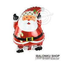 Balon Foil Santa Clause Mini / Balon Natal / Balon Santa Clause