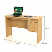 Funika meja kantor dengan laci