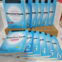 paket 12 buku bahasa korea terpadu untuk orang indonesian jilid1-6