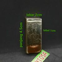 Barang Antik Replika Emas Batangan Lm Sukarno Ukuran 250 Gram Istimewa