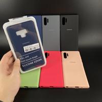 Samsung Note 9 Soft Case Rubber Anti Noda