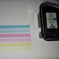 Cartridge canon CL 811 color siap pakai ori recycle Ip2770 Mp237 Mp287
