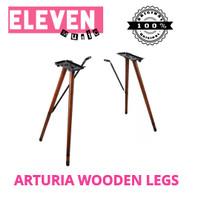 arturia wooden legs stand piano