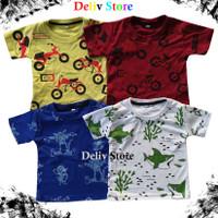Baju Kaos Printing Anak/3 size/Unisex/Termurah/Grosir/Konveksi