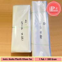 Plastik OPP Kiloan BESAR dan TEBAL, Plastik Tas / Plastik Lusinan Baju