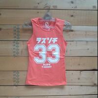Tank Top Baju Tanpa Lengan Olahraga Wanita