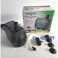 AMARA 104 Submersible Pump/Pompa Kolam-Aquarium/no YANG YAMANO RESUN