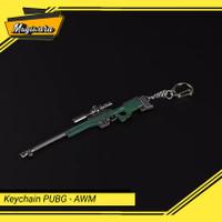 Keychain AWM / Magnum Gantungan Kunci Game PUBG Miniatur Sniper Rifle