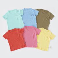 Baju Pendek Bayi dan Anak / I Am Cotton Casual Slub