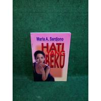 Original novel Hati yang beku - Maria A Sardjono